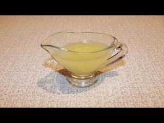 Лимонная настойка для пропитки торта