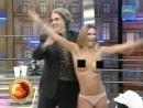 Amalia Granata показала сиськи в эфире тв шоу