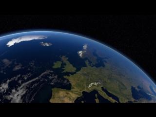 Орбита: Необыкновенное путешествие планеты Земля 1 (2012) Траектория движения Земли