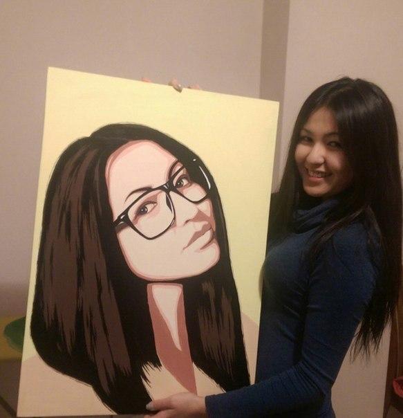 Поп арт портреты своими руками фото
