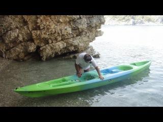 Каяк Средиземное море
