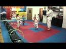 Negaturov. Karate training for children of 3- 4 years 13.03.24.part 2