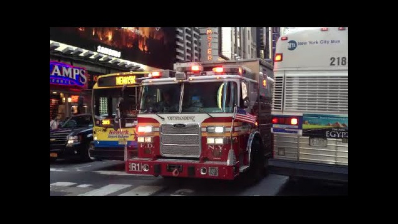 1 Million Views Special FDNY Responding Compilation 6 Blazing Sirens Loud Air Horns Throughout NYC