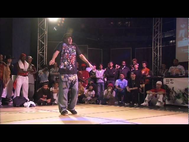 Popping UK B-BOY 2007 (Salah - K-Moon)