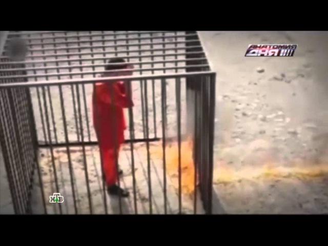 Боевики ИГИЛ заживо сожгли заложника и похвалились видеозаписью казни в Интерн ...