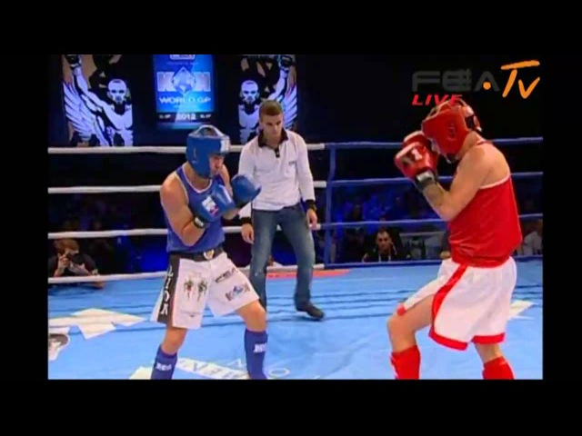Renita Stanislav vs Alexoae Sorin WAK 1F Rules Open fight KOK WGP 2012