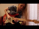 All Along The Watchtower guitar cover with improvisation in verses (Jimi Hendrix)