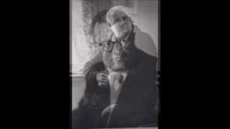 Георгий Свиридов поет и играет поэму