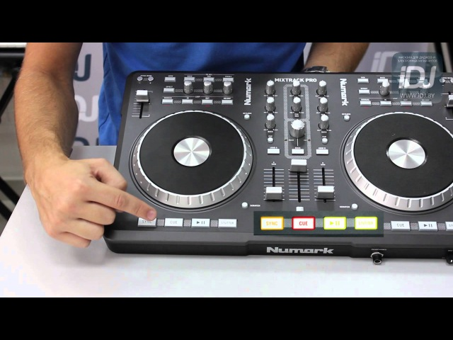 Numark Mixtrack Pro Обзор от iDJ.by