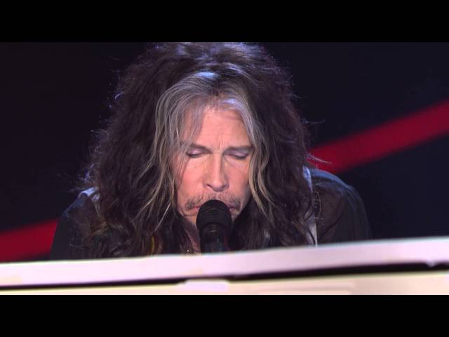 Steven Tyler Dream on 2014 Nobel Peace Prize Concert