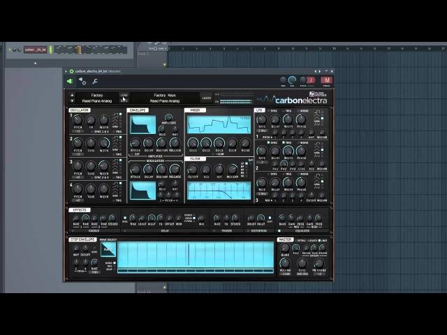 Carbon Electra Synth Plugin (VST/AU) Demo