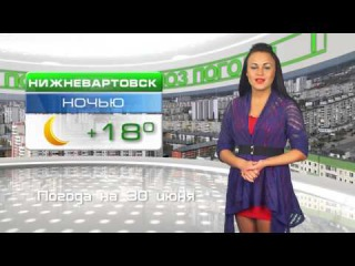 Прогноз погоды на 30 июня