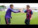 The freestyle world champion John Farnworth meets Neymar Jr