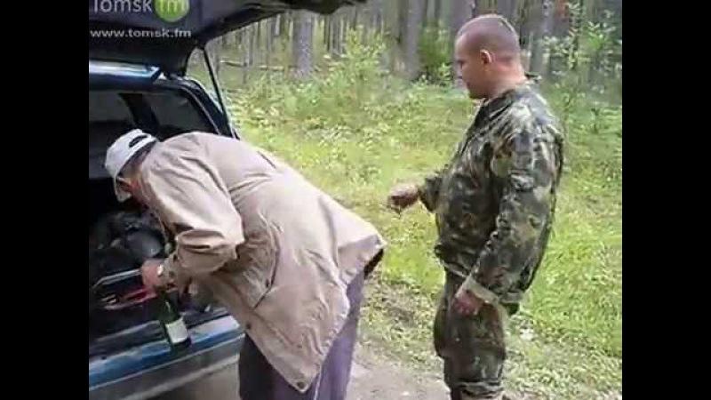 Вашки, август 2012г мы в тайге, водитель бухой, машина не заводится, пытаемся завес ...