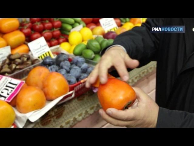 Свежая еда Как выбрать спелую хурму