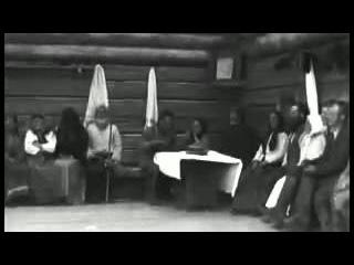 Народные танцы. Съёмка почти столетней давности 1920