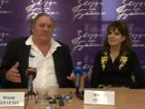 Фани Ардан и Жерар Депардье сыграли в Иркутске спектакль