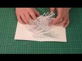 Крутая 3D открытка своими руками