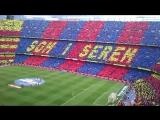 Есть и будем - 100 тысяч фанатов поют гимн футбольного клуба Барселоны
