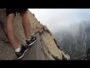 Прогулка по страшной тропе горы Хуашань