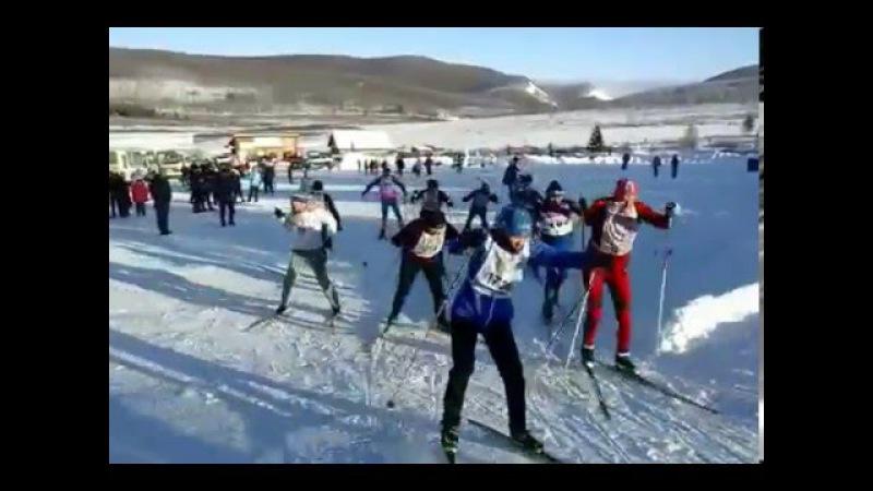 Открытие Зимнего сезона12 12 2015г ст Тайга Старт Мужчины 30 39лет