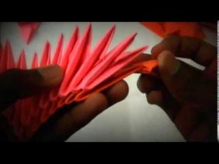 Как сделать 3D коробочку сердечко оригами