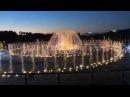 [HD] Fountain in Tsaritsyno, Moscow | Вечерний и ночной светомузыкальный фонтан в Царицыно, Москва