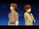 MMD Hetalia Anything You Can Do I Can Do Better Spamano ~ Spain and Romano
