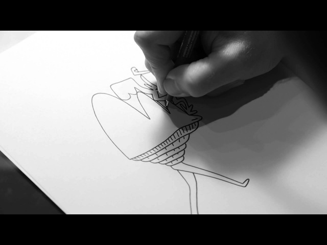 Artist Luke Ramsey Continuously Draws Characters