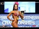 2015 World Fitness Championships Fitness Bikini 169cm