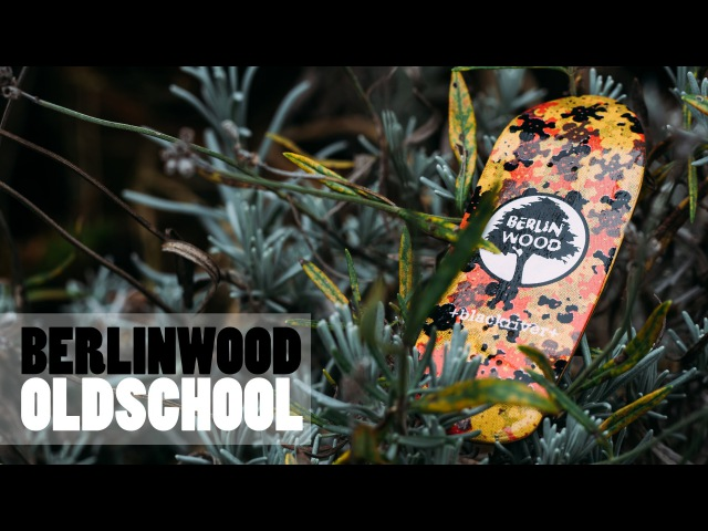 Berlinwood Camo Oldschool Cruiser Fingerboard Product Blog
