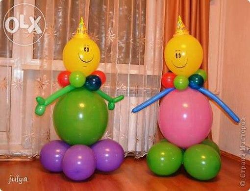 Поделки из шариков своими руками мастер класс