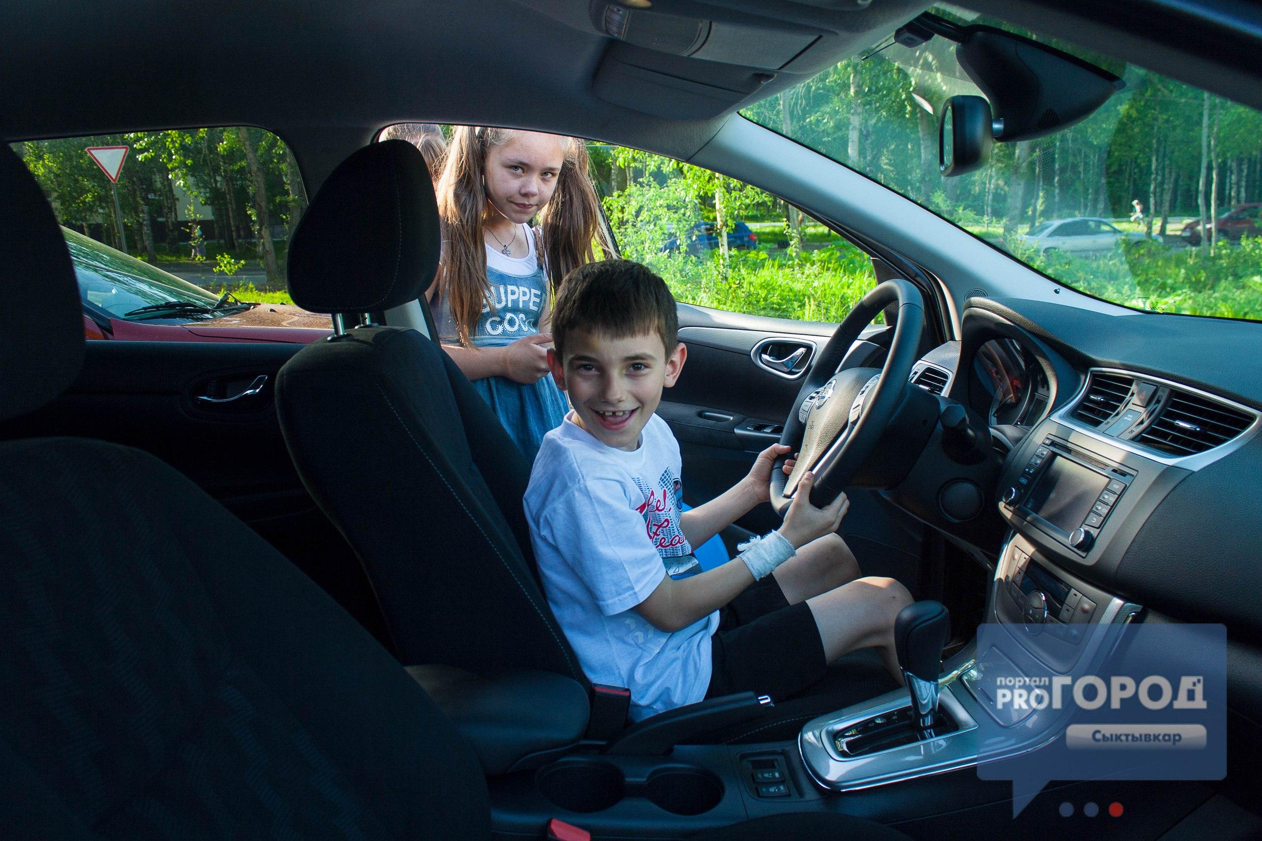 День защиты детей в Сыктывкаре: мастер-классы, квадроциклы и внедорожники