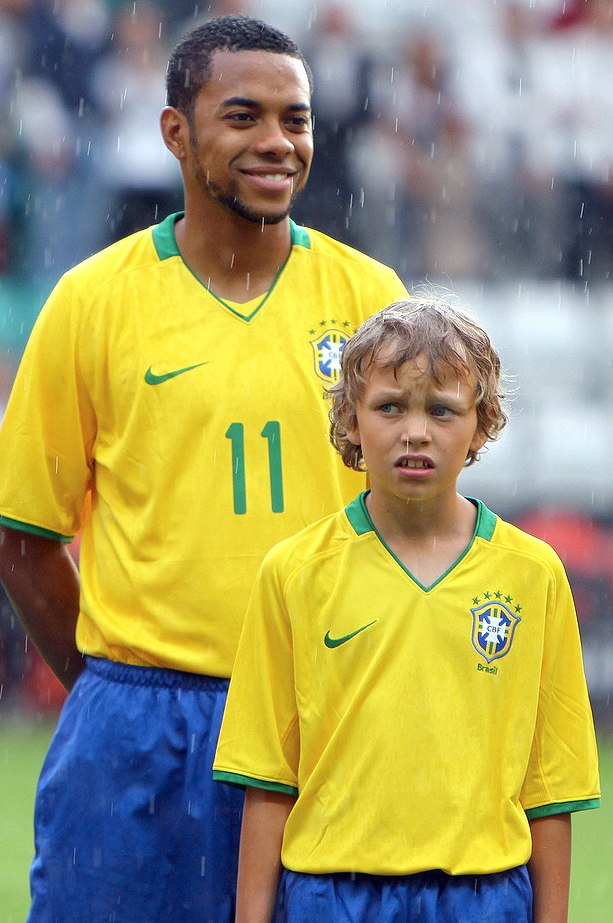 brasil estonia 2009 robinho