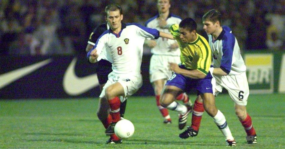 brasil russia 1998