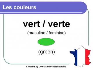Les couleurs - Colores en francés