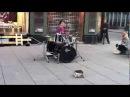 Виртуоз на барабанах в норвегии