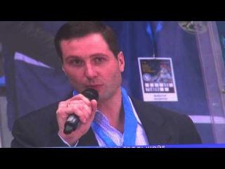 Церемония проводов Алексея Морозова из большого хоккея