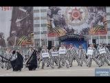 Дотанцуются: Танец узников концлагерей на параде в Сыктывкаре 2015