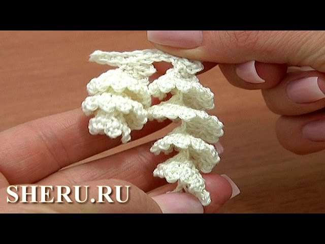 Crochet Spiral Edging Pattern Урок 2 Вязание обвязок крючком