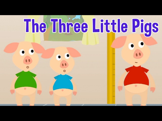 The Three Little Pigs Animated Fairy Tales for Children
