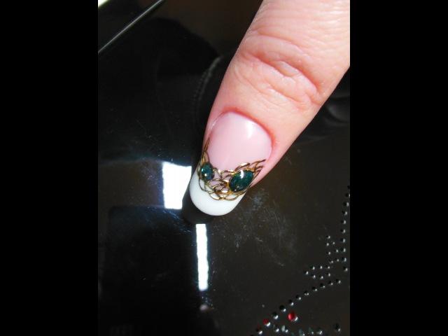 Ricostruzione French e pietre gemstone jewelry and Foil