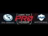 Evil Geniuses vs MVP Phoenix Round 1 Game 1   joinDota MLG Pro League Lan Finals   EG vs MVP P