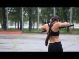 ОБГ Спираль.  Летняя тренировка на набережной. 2015 Хабаровск
