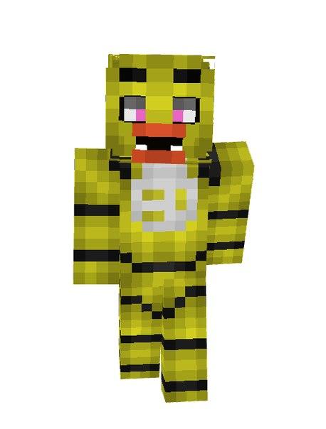 скачать скины для Minecraft фнаф - фото 6