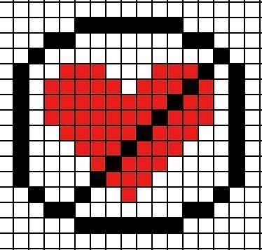 Схемы сердечек
