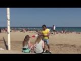 Секс На Пляже Пикап. скрытая камера