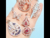 Katerina Belova Silver Earrings