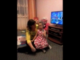 Песня Умки в исполнении внучки Ксении