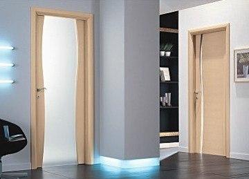 Двери Эстет из искусственного шпона